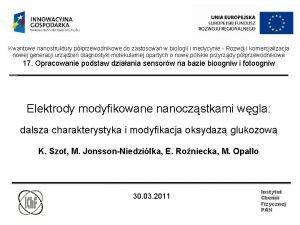 Kwantowe nanostruktury pprzewodnikowe do zastosowa w biologii i