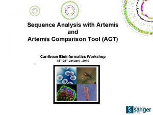 Sequence Analysis with Artemis and Artemis Comparison Tool