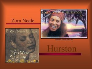 Zora Neale Picture for US Postal Stamp 2003