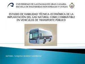 UNIVERSIDAD DE LAS PALMAS DE GRAN CANARIA ESCUELA