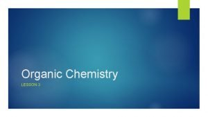 Organic Chemistry LESSON 3 Isomers Constitutional Isomers Draw