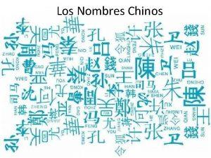 Los Nombres Chinos El apellido xngmostrar el parentesco