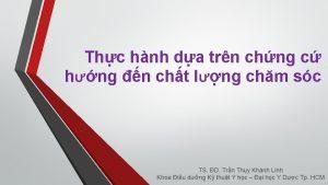 Thc hnh da trn chng c hng n