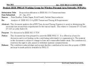 Mar 2011 doc IEEE 802 15 11 0239