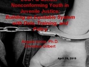 LGBT Gender Nonconforming Youth in Juvenile Justice Building