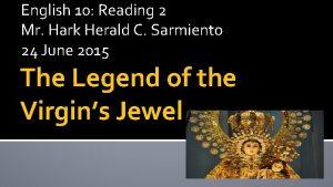 English 10 Reading 2 Mr Hark Herald C