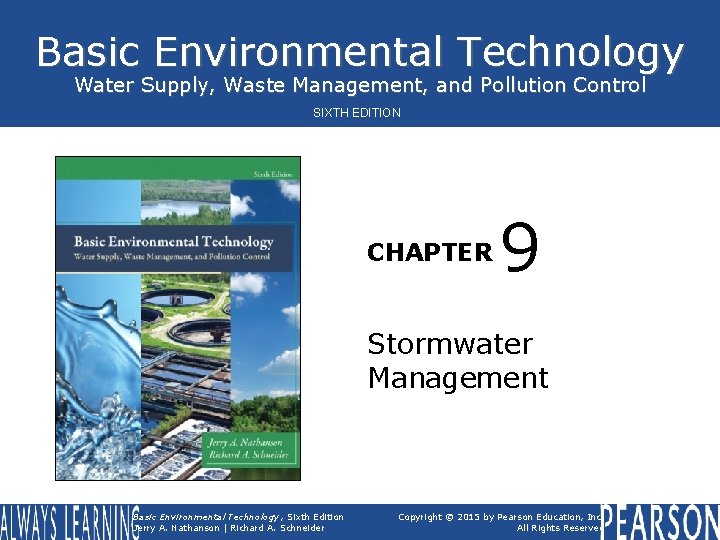 Basic Environmental Technology Water Supply Waste Management and