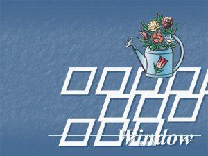 Window u Maximize Window u Minimize Window u