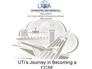 LIIEA Long Island Import Export Association Inc Air