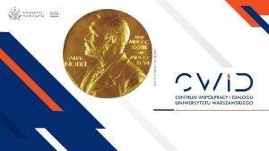 Laureaci Nagrody Nobla 2019 Nagroda Banku Szwecji im