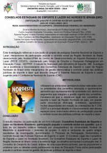 Ministrio do Esporte Secretaria Nacional de Esporte Educao