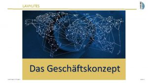 LAVYLITES Das Geschftskonzept COPYRIGHT 2015 Seite 1 Empfehlungsmarketing