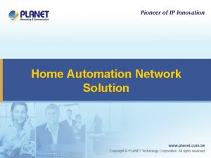 Home Automation Network Solution Home Automation Structure Application