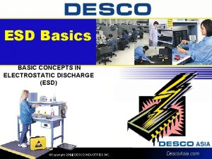 ESD Basics BASIC CONCEPTS IN ELECTROSTATIC DISCHARGE ESD