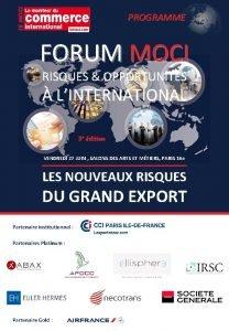 PROGRAMME FORUM MOCI RISQUES OPPORTUNITS LINTERNATIONAL 5 e