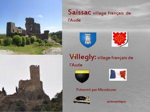 Saissac village franais de lAude Villegly village franais