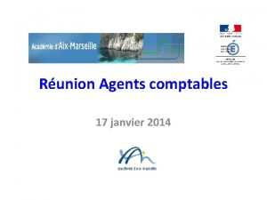 Runion Agents comptables 17 janvier 2014 Runion Agents