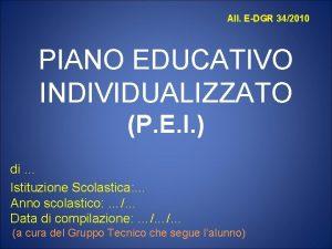 All EDGR 342010 PIANO EDUCATIVO INDIVIDUALIZZATO P E