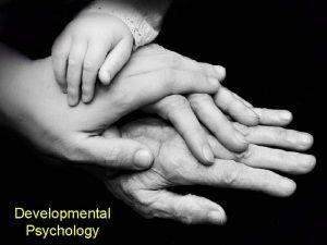 Developmental Psychology Infant Reflexes Attachment The Infants World