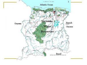 Atlantic Ocean Guyana Surname French Water Guyana Resources