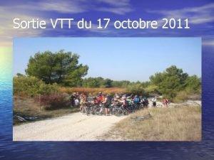 Sortie VTT du 17 octobre 2011 Le gouffre