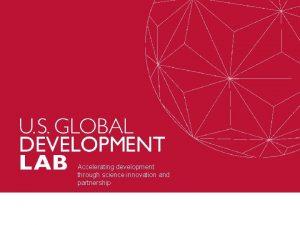 Accelerating development through science innovation and partnership Partnerships