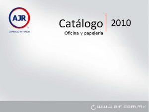 Catlogo Oficina y papelera 2010 Oficina y papelera