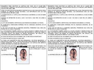 REQUISITOS PARA SOLICITAR LA CARTILLA DEL S M