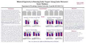 Bilateral Superiority in Detecting Gabor Targets Among Gabor