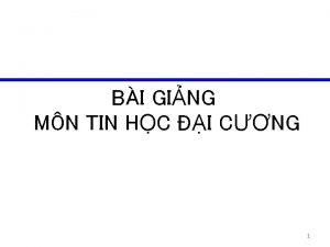 BI GING MN TIN HC I CNG 1