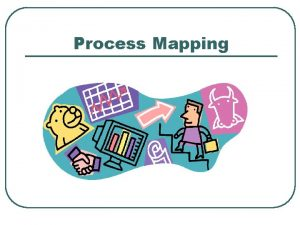 Process Mapping Definition of Process Mapping l Process
