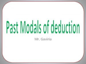 Mr Gaviria Why is he so angry He
