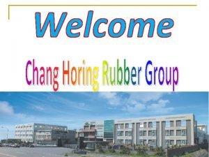 Our History in Taiwan Taiwan o Chang Horing