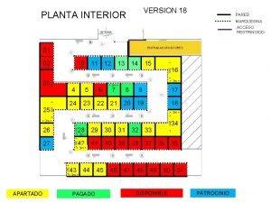 VERSION 18 PLANTA INTERIOR PARED MARQUESINA ACCESO RESTRINGIDO
