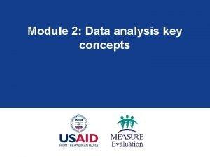 Module 2 Data analysis key concepts Module 2