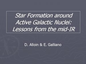 Star Formation around Active Galactic Nuclei Lessons from
