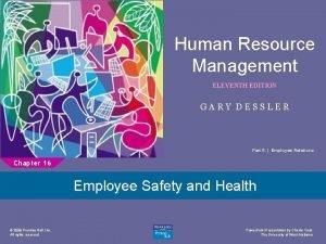 Human Resource Management 1 ELEVENTH EDITION GARY DESSLER