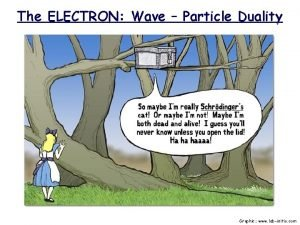 The ELECTRON Wave Particle Duality Graphic www labinitio