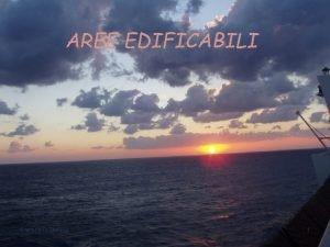 AREE EDIFICABILI Gaetano Di Stefano 1 AREE FABBRICABILI