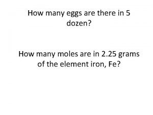 How many eggs are there in 5 dozen