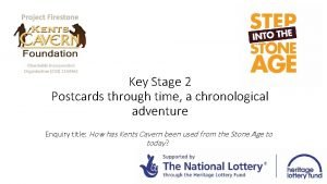 Key Stage 2 Postcards through time a chronological