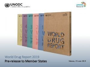 Placeholder WDR 2019 Picture World Drug Report 2019