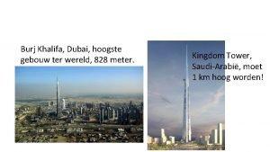 Burj Khalifa Dubai hoogste gebouw ter wereld 828