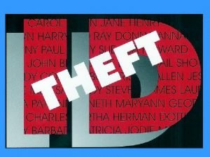 Identity Theft When Bad Things Happen To Your