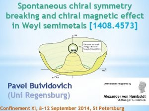 Spontaneous chiral symmetry breaking and chiral magnetic effect