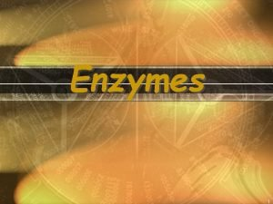 Enzymes 1 What Are Enzymes Most enzymes are