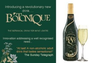 Introducing a revolutionary new drink THE BOTANICAL DRINK