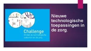 Nieuwe technologische toepassingen in de zorg Technologie en
