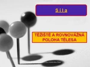 Sla TIT A ROVNOVN POLOHA TLESA VY32INOVACE05 TIT