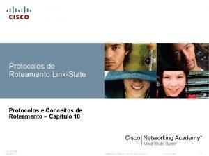 Protocolos de Roteamento LinkState Protocolos e Conceitos de
